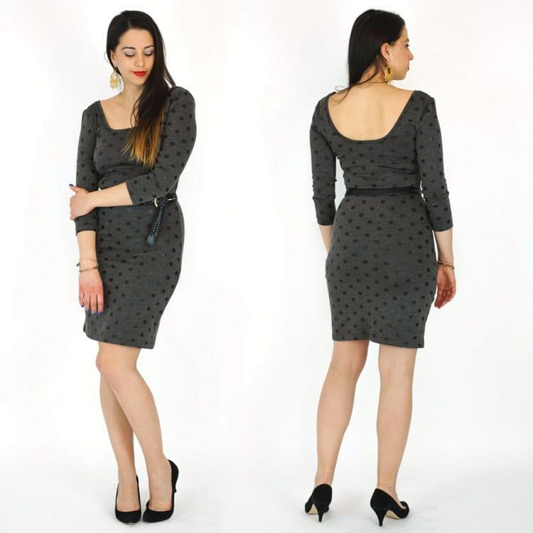 Nettie Dress & Bodysuit Pattern, Closet Case Files, PDF pattern
