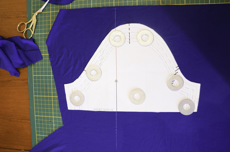 Cutting Nettie pattern-14