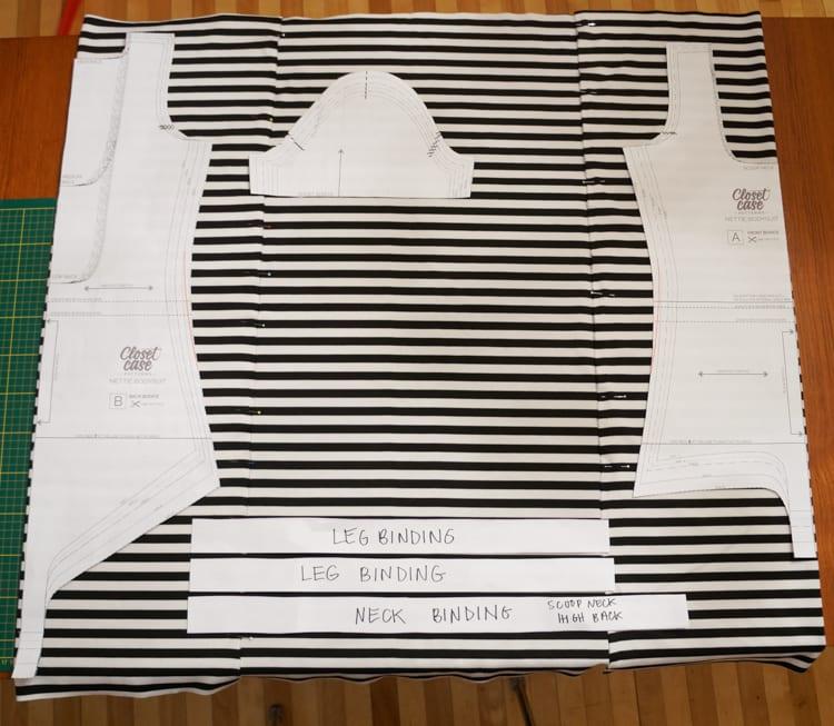 Cutting Nettie pattern-2