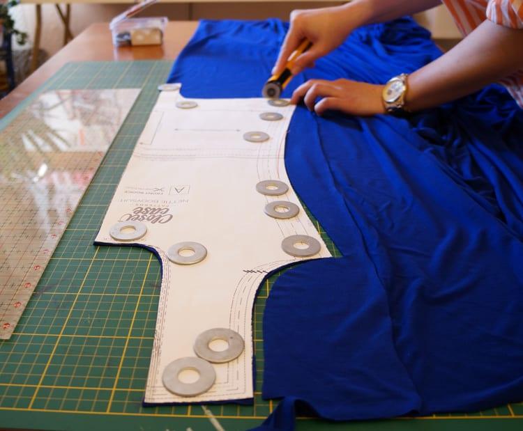 Cutting Nettie pattern-9