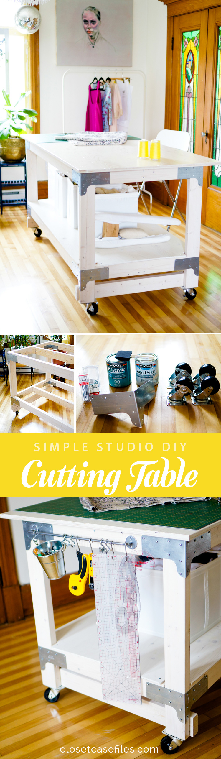 Cutting Table DIY // Simple Studio Project // Closet Case Files