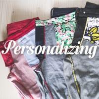 Ginger Jeans Skinny Pattern - personalizing denim