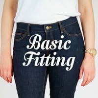 Ginger Skinny Jeans Pattern - Basic pants fitting