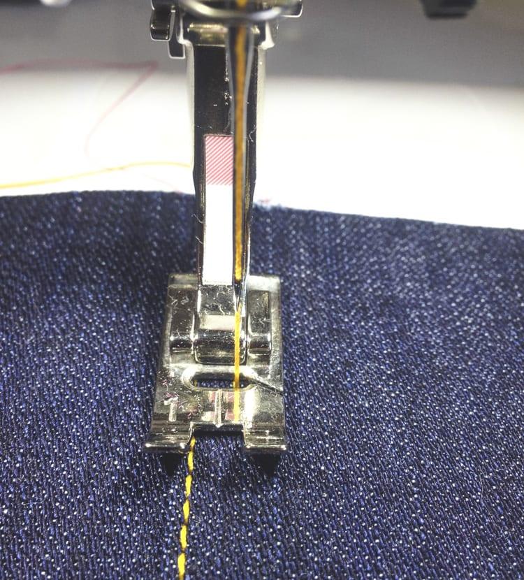 topstitching jeans