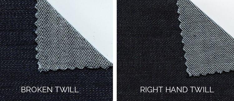 denim weave types-understanding twill