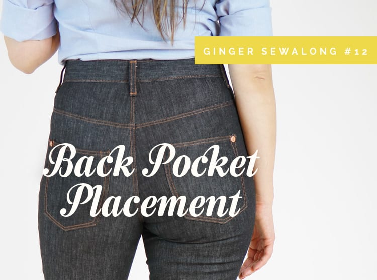 flattering back pockets jeans