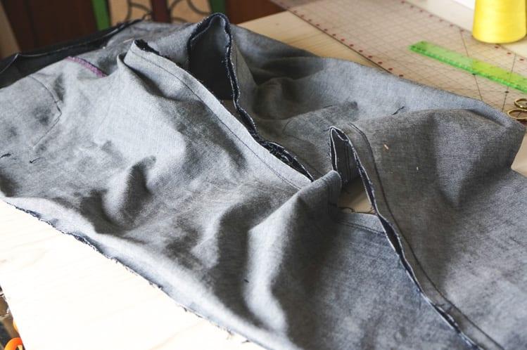 sewing inseam