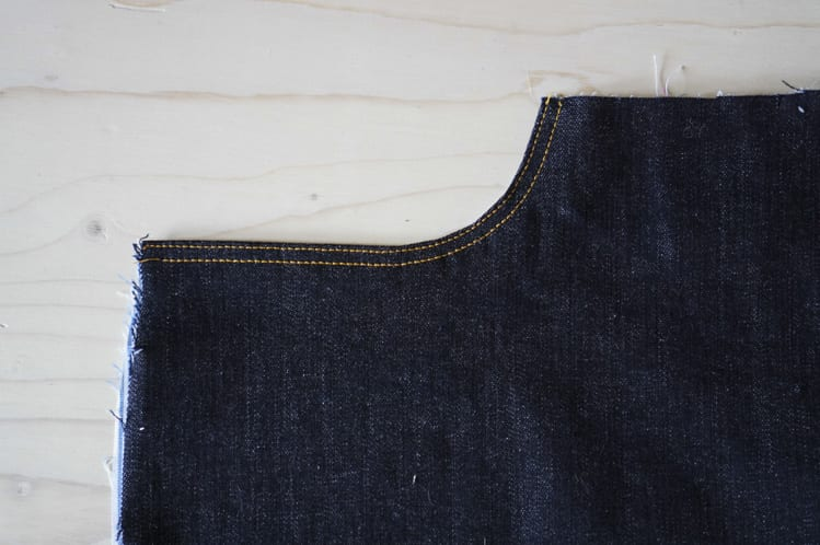 ginger skinny jeans pattern - assembling pockets-24