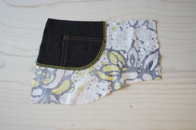 ginger skinny jeans pattern - pocket stay