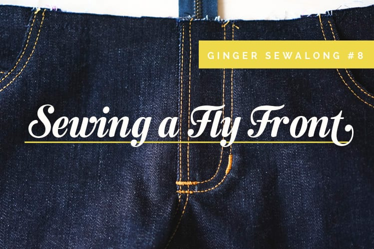 Sewing fly front zipper