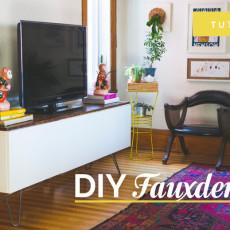 credenza / Fauxdenza DIY