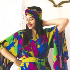 Kimono DIY in rayon challis | Named Asaka sewing pattern | Closet Case Files // closetcasefiles.com