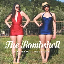 bombshell swimsuit promotional