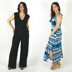 Sallie Jumpsuit and Maxi Dress sewing pattern // Closet Case Files // http://store.closetcasefiles.com