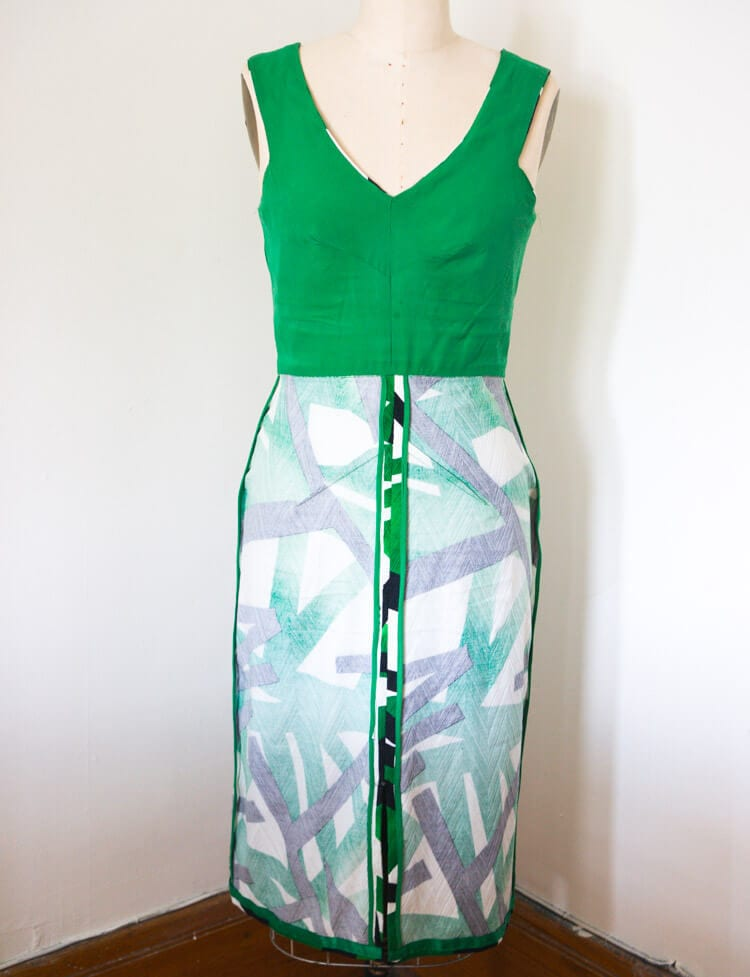 Sophia Dress pattern // Seam finishes and construction // Closet Case Files