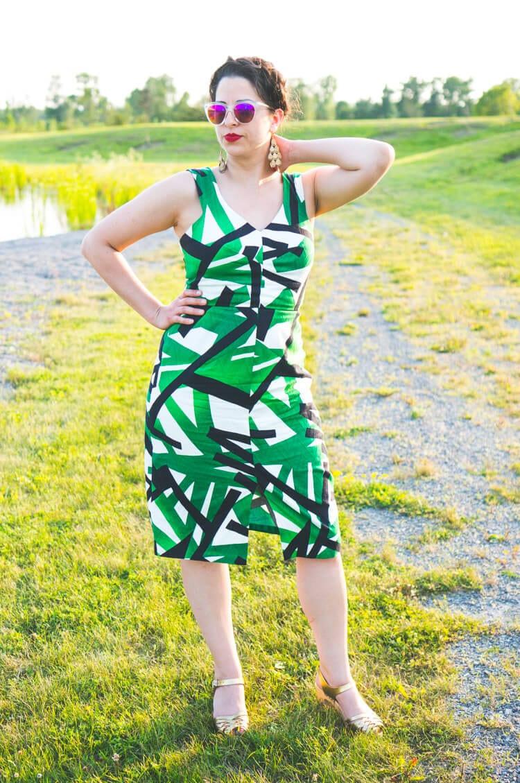 By Hand London Sophia Dress pattern-3