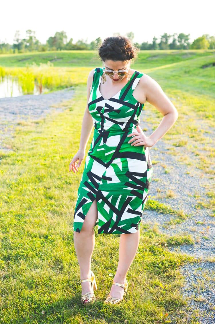 Sophia Dress pattern // By Hand London // Closet Case Files