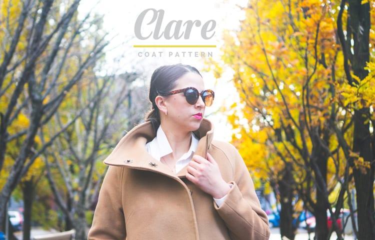 Clare Coat Pattern // View B // Closet Case Files
