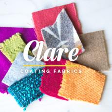 Wool coating fabric // Clare Coat Sewalong // Closet Case Files