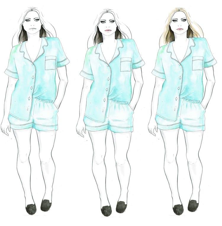 Fashion illustrations studies // Closet Case Files