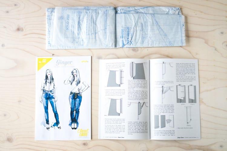Design paper pattern packaging // Closet Case Files