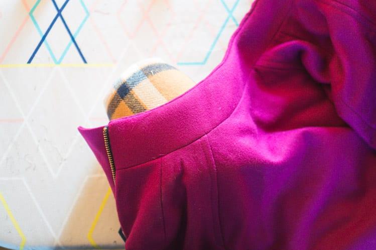 Clare Coat_Bagging a coat lining-2