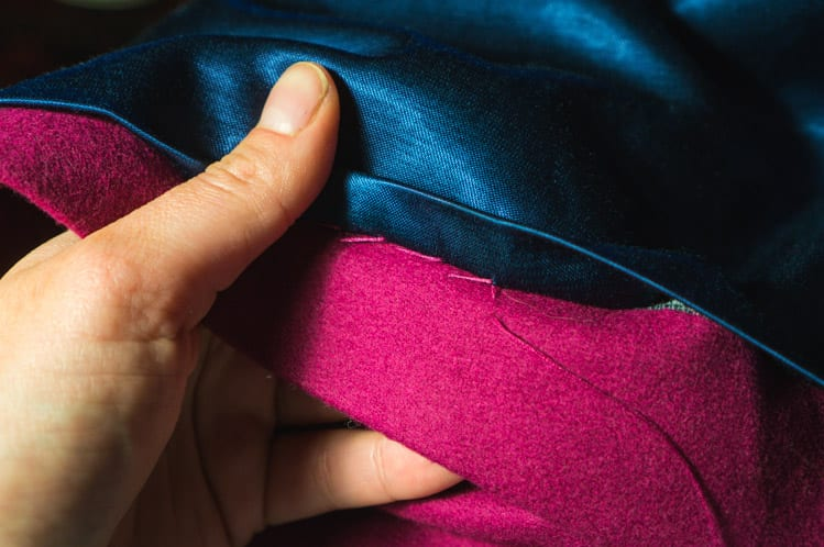 Clare Coat_Bagging a coat lining-3