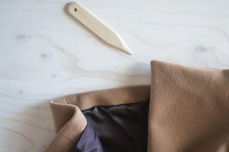 How to bag a coat lining // Clare Coat Sewalong // Closet Case Files