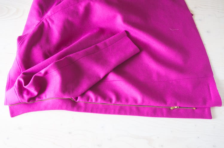 How to insert and sew a zipper placket // Clare Coat Sewalong // Closet Case Files