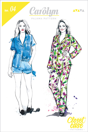 Carolyn-Pajamas-pattern_Envelope-cover