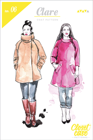 Clare-coat-Sewing-Pattern-Envelope-cover