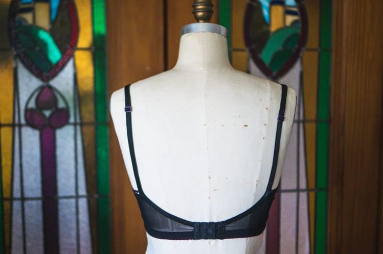 Black lace Watson bra-6