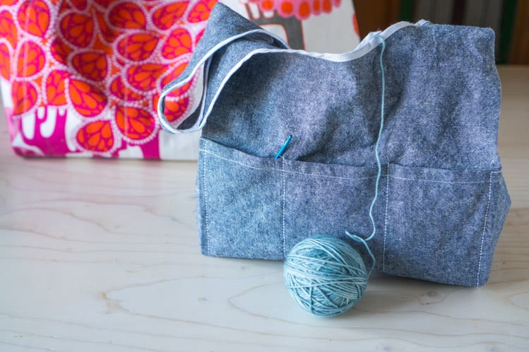 Stowe Bag by Grainline Studio & Fringe Supply Co // Closet Case Files