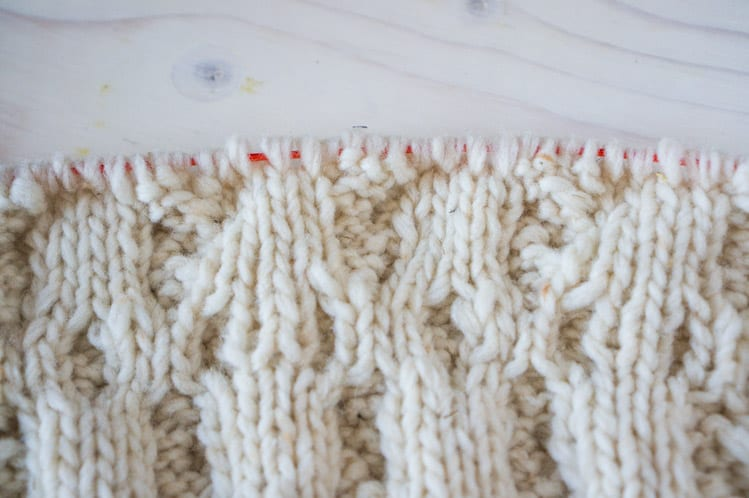 Knitting Cables Without Cable Needle : Snoqualmie knitalong how to knit cables swatching