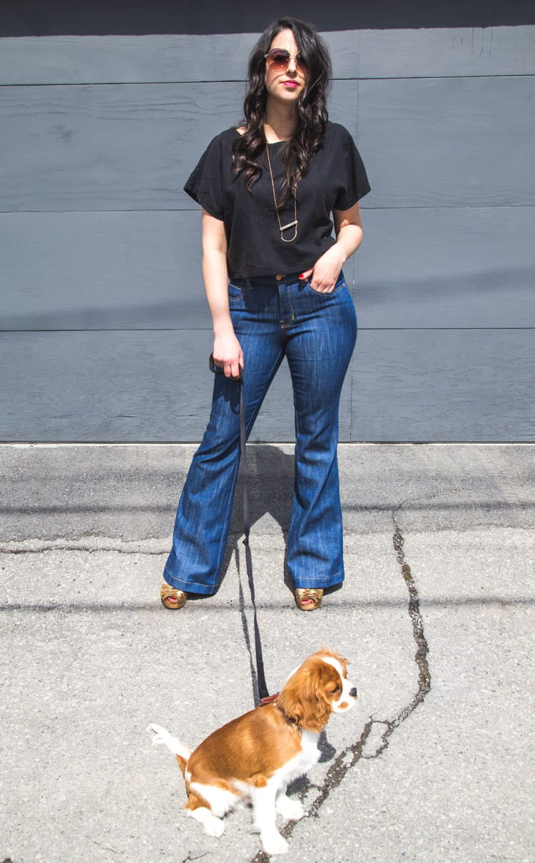 Ginger Flare Jeans Pattern-12
