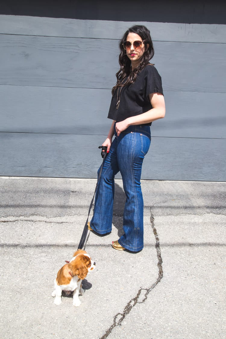 Ginger Flare Jeans Pattern-5