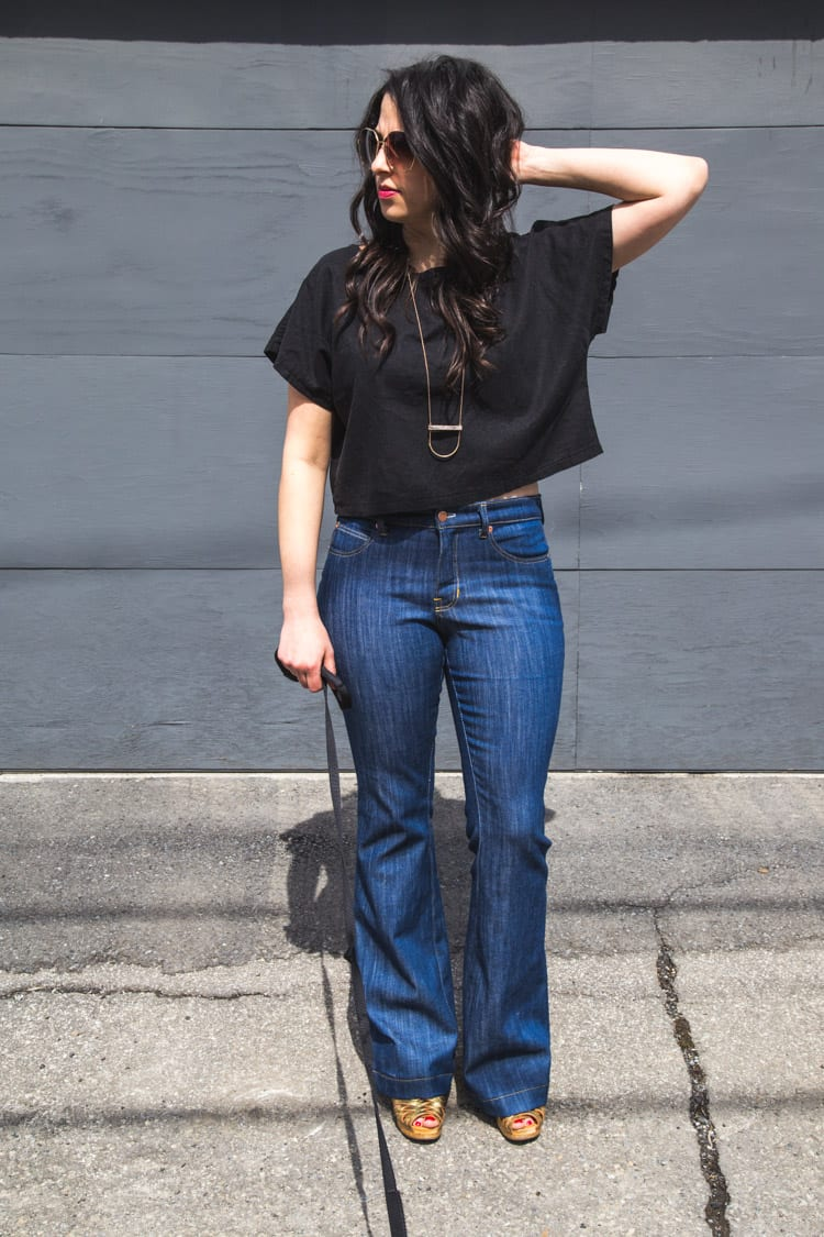 Ginger Flare Jeans Pattern-9