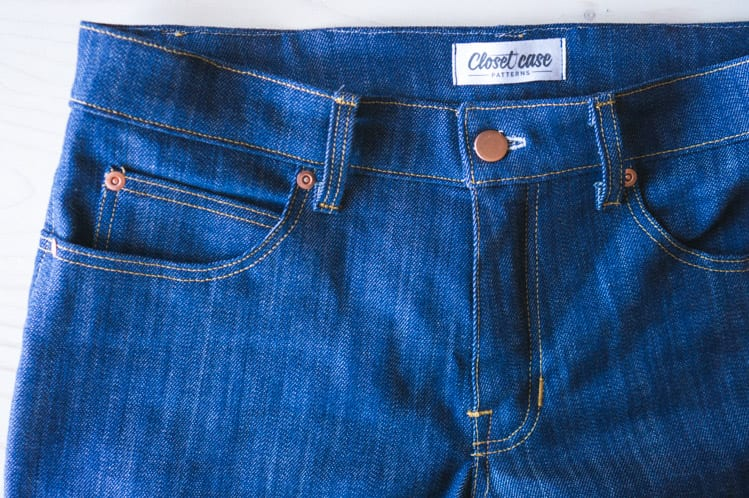 Ginger Flared Jeans pattern_construction details-2