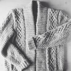 Rowe coat pattern by Brooklyn Tweed // Closet Case Files