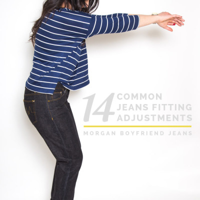 14 common jeans and pants fitting adjustments // Closet Case Files