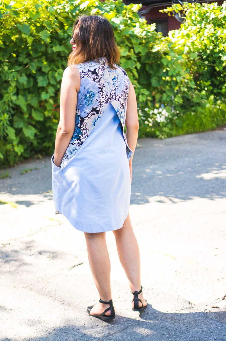 Hannah Dress by Victory Patterns // Closet Case Files