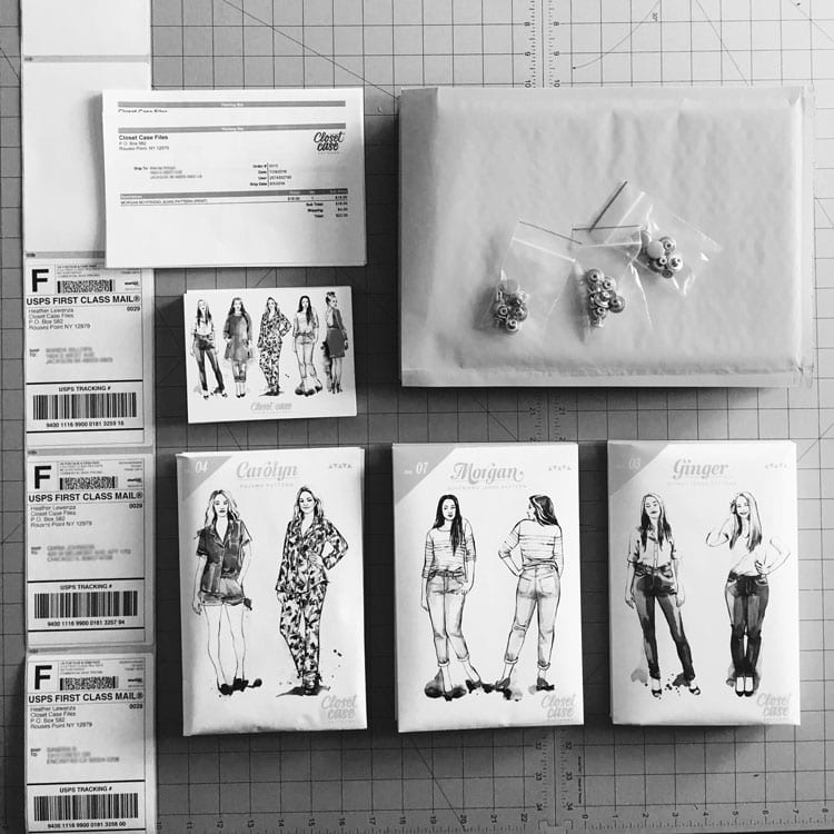 Sewing-patterns-shipping