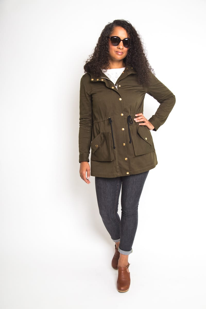 The Kelly Anorak // Jacket Sewing Pattern // Closet Case Patterns