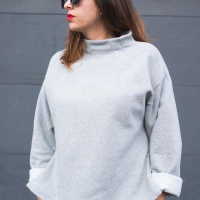 Talvikki sweater patten by Named // Closet Case Patterns blog