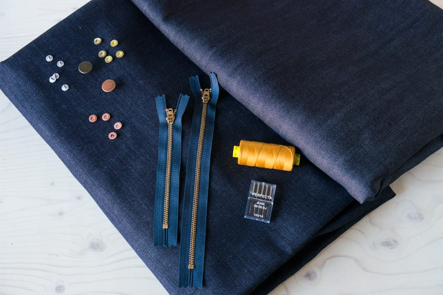 Con Mills denim kits // Closet Case Patterns