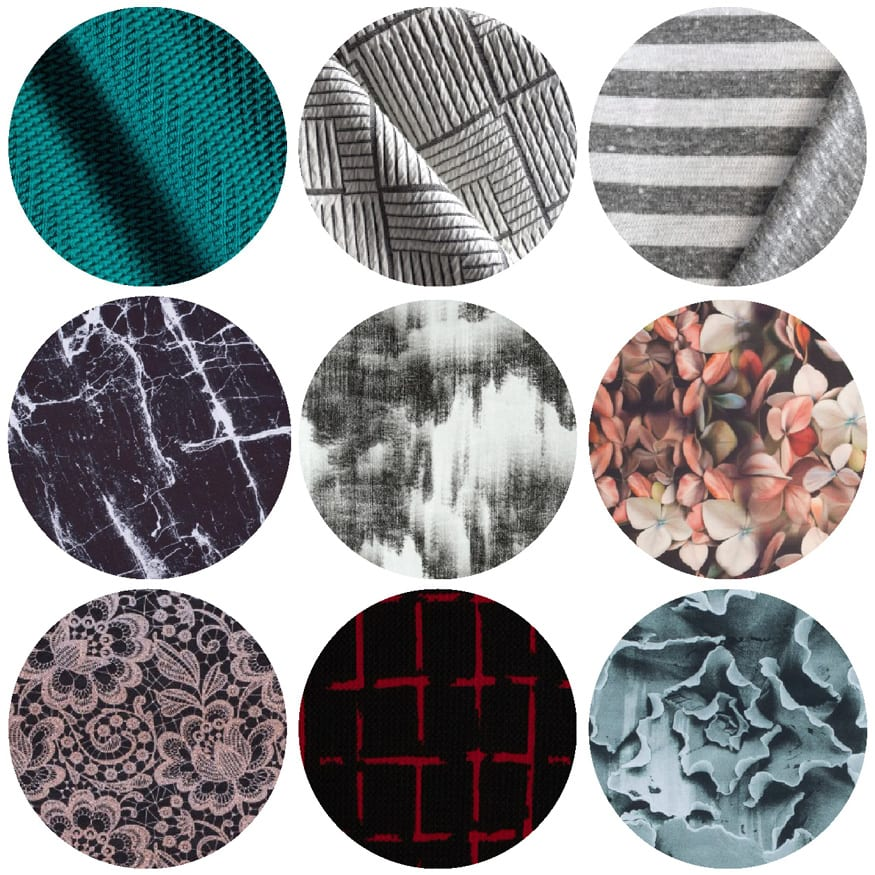 Ebony Tee Fabric Options // Scuba and Double Knit Fabric options // Closet Case Patterns